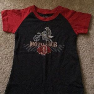New thirty-one Moto Club boys tee